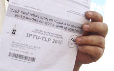 Segunda parcela do IPTU vence esta semana