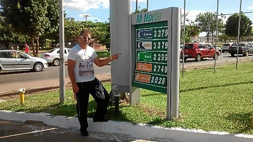 Aumento da gasolina chega aos postos de combustível do DF