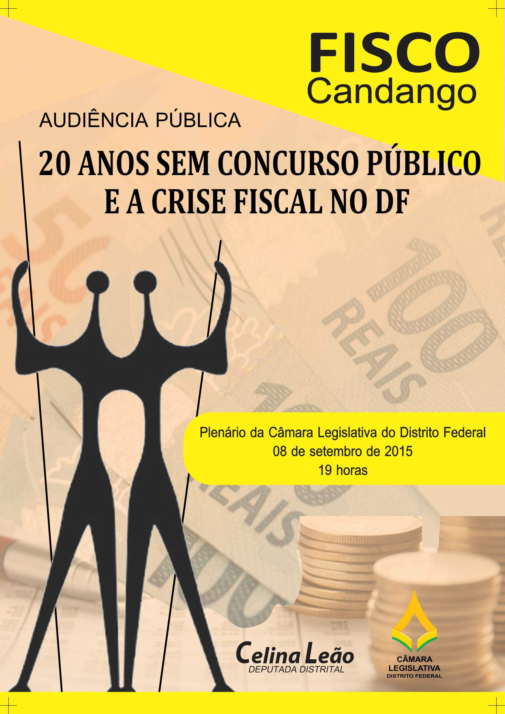 Audiência Pública CLDF: 20 ANOS SEM CONCURSO PÚBLICO