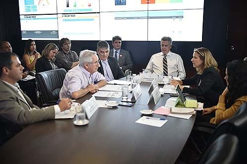 Governador recebe gestores de seis áreas para monitorar projetos