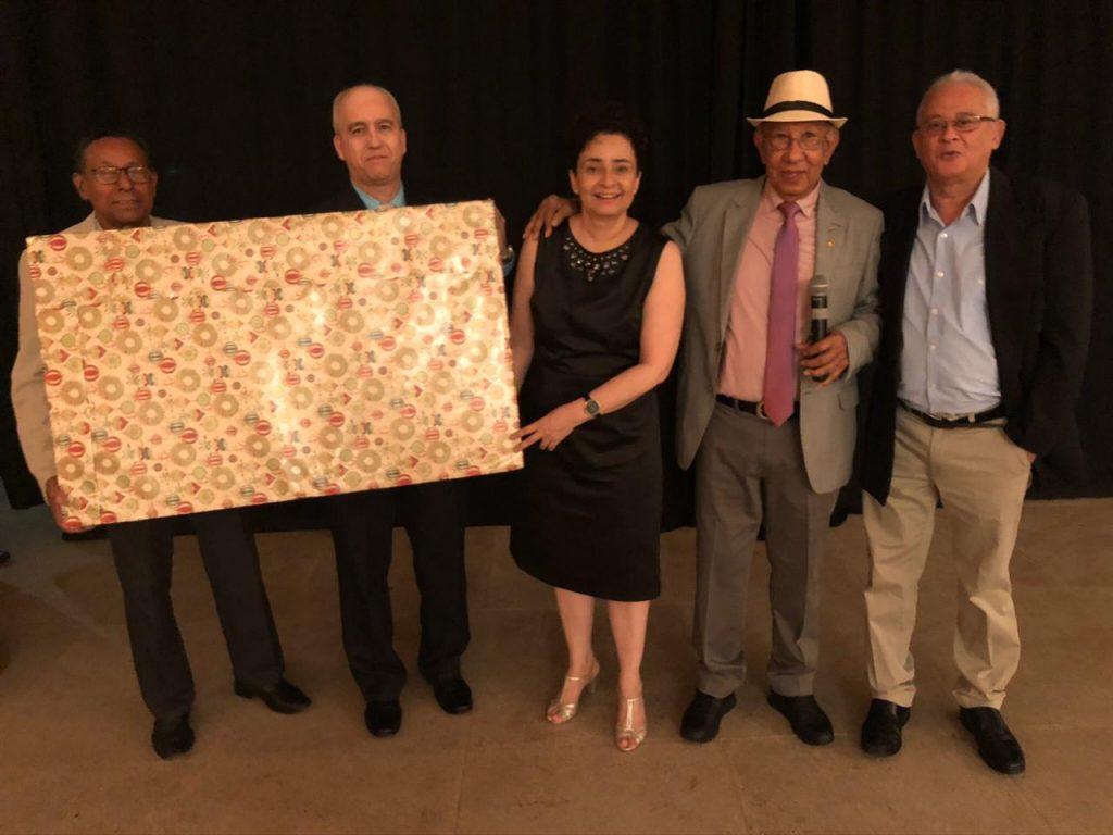 Durante o evento houve sorteio para os auditores, dentre os sorteados a auditora Maria Tereza Melo