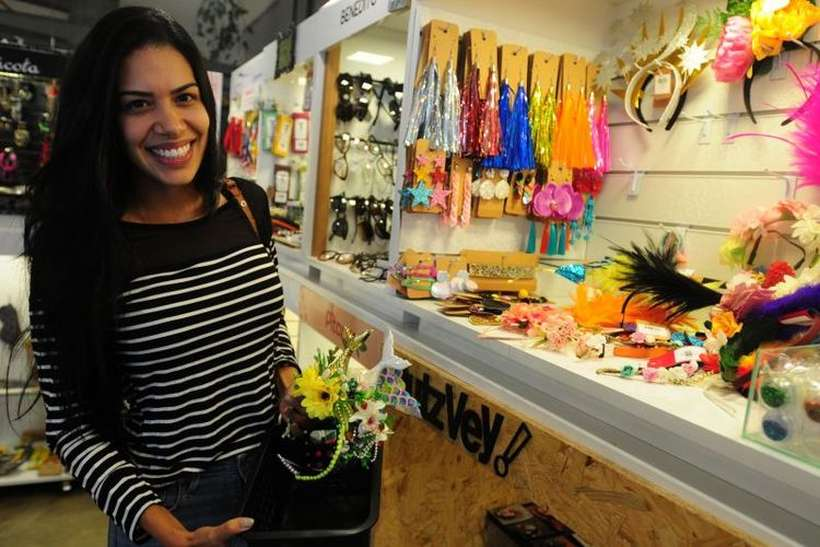 Comércio do DF projeta aumento nas vendas durante o carnaval