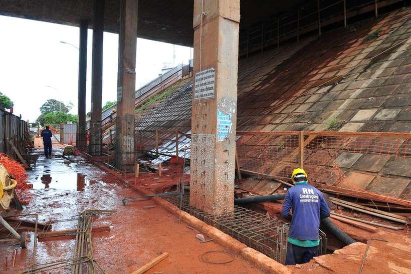 Viadutos da N2 Norte passam por reformas